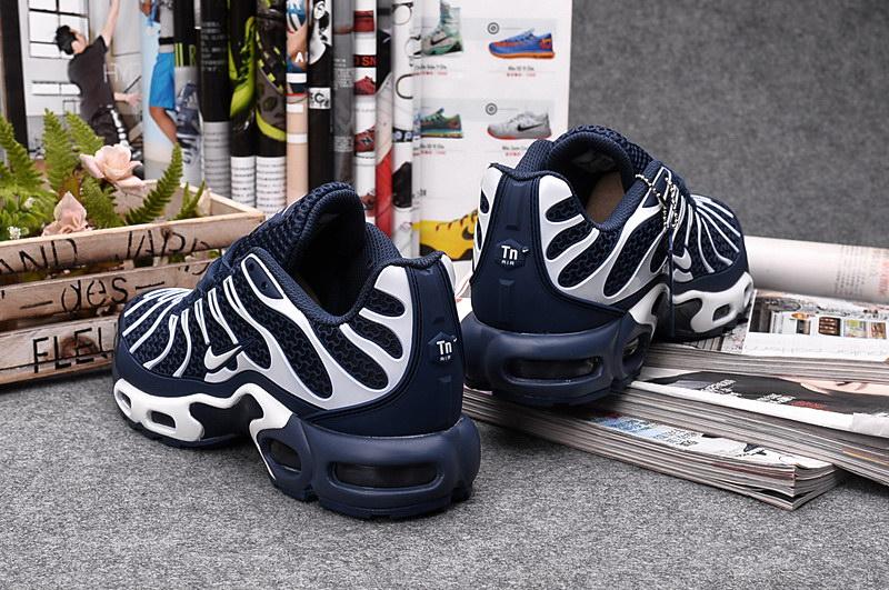 2016 Basket Nike Air Max Tn Tuned Requin Plus Homme Bleu