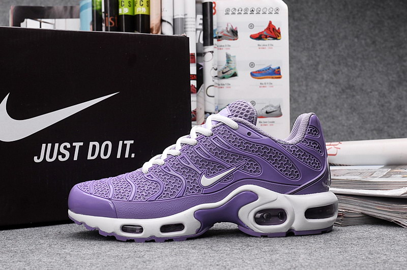 2016 Basket Nike Air Max Tn Tuned Requin Plus Femme Violet