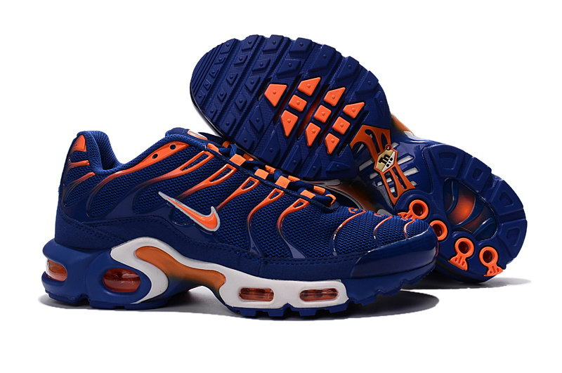 get online sneakers for cheap detailed look 2016 basket nike air max plus Royal blue/orange color,Nike tn ...