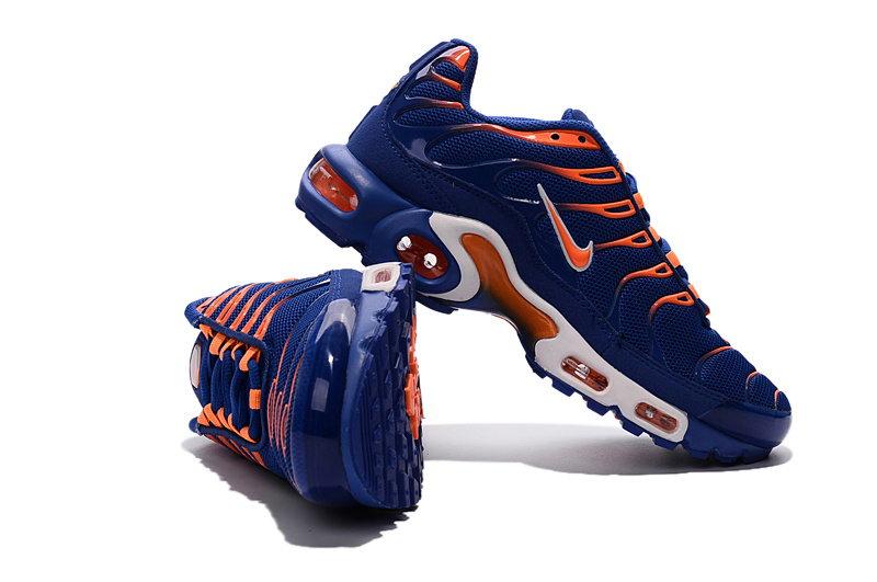 nike tn orange et bleu