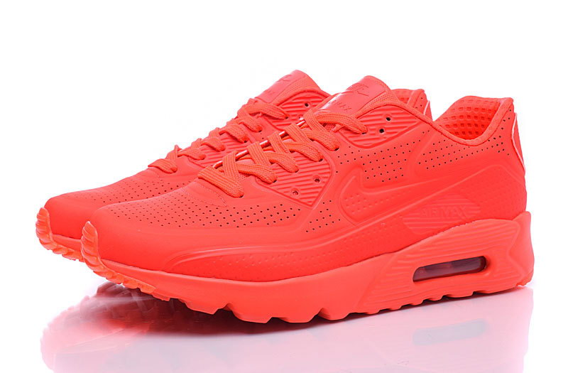 NIKE AIR MAX 90 ULTRA MOIRE 819477 600 HOMME TOUR ROUGE on