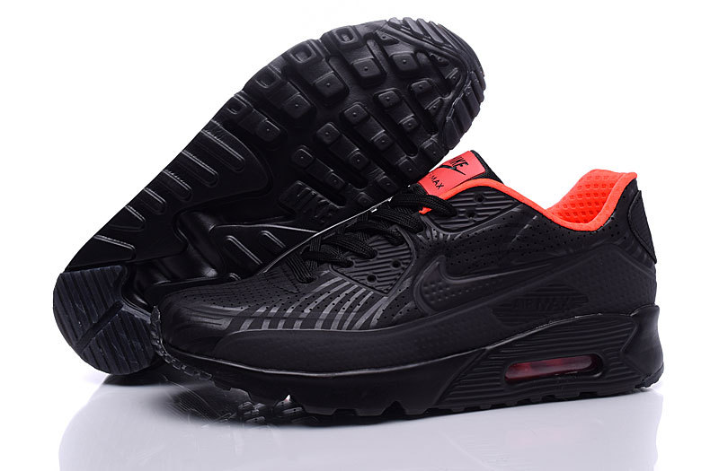NIKE AIR MAX 90 ULTRA MOIRE 819477 600 (rouge coulue_noir